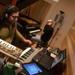 Recording Session @ Tube Studio with Alessandro Deledda