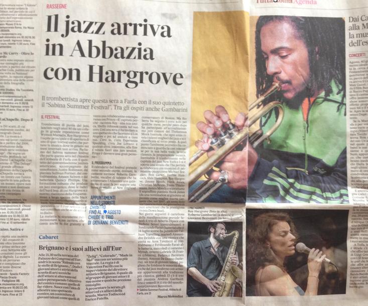 Il Jazz arriva in Abbazia