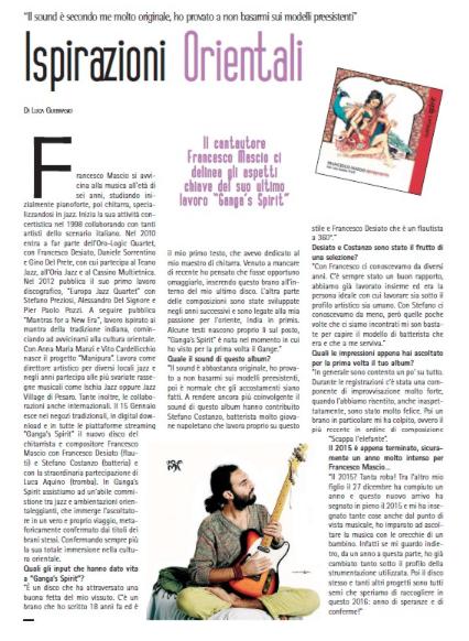 Francesco Mascio, Ganga's Spirit