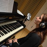 Giulia Facco @ Tube Recording Studio for Emme Record Label