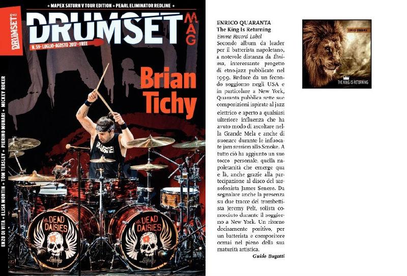 Drumset magazine