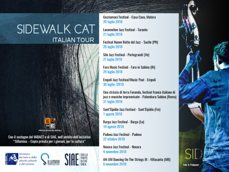 Sidewalk Cat Italian Tour