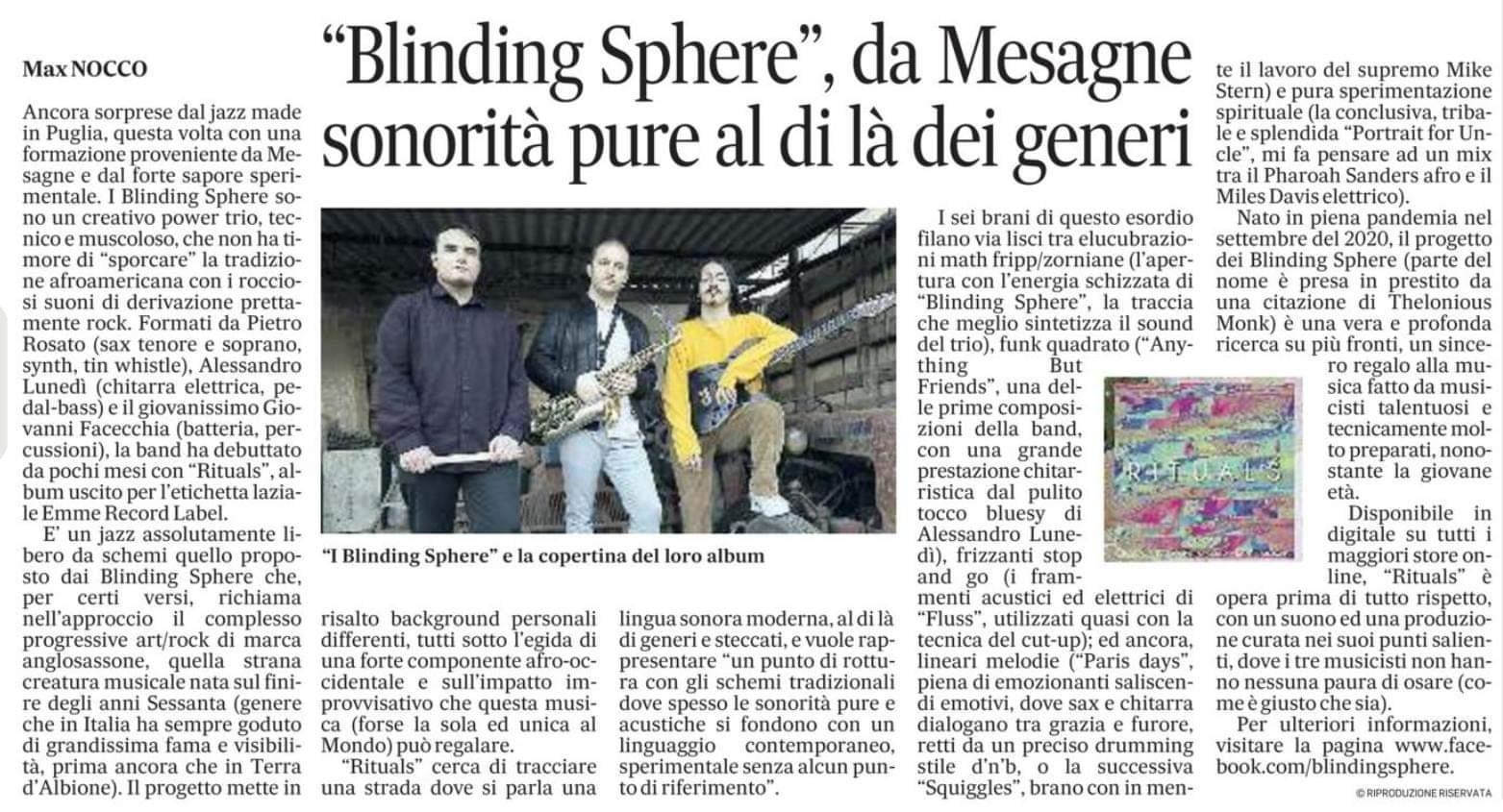 Blinding Sphere