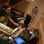 Recording Session @ Tube Studio with Alessandro Deledda